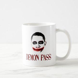 Paso del demonio - ObamaCare anti Taza De Café