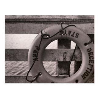Paso del engaño en la bahía del arquero postal