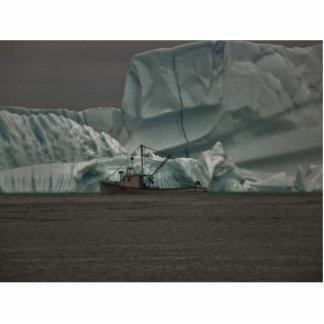 Paso del gigante del hielo escultura fotografica