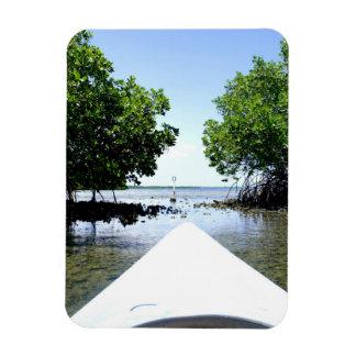 Paso del mangle imanes rectangulares