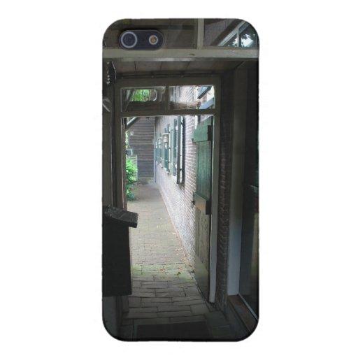 Paso del patio iPhone 5 protector