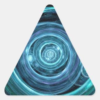 Paso del tiempo pegatinas triangulo
