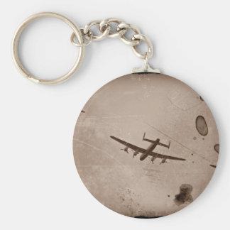 Paso elevado de Avro Lancaster Llavero Redondo Tipo Pin