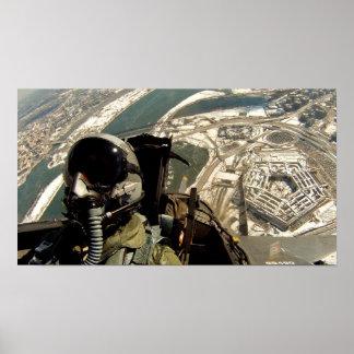 Paso elevado de Pentágono Póster