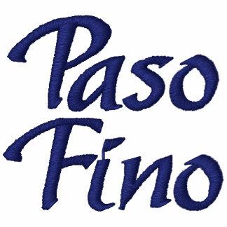 Paso Fino Embroidered Jackets