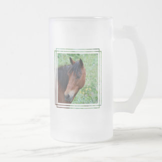 Paso Fino Frosted Beer Mug