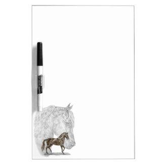 Paso Fino Horse Art Dry Erase Board