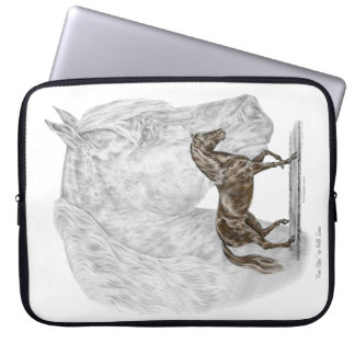 Paso Fino Horse Art Laptop Sleeve