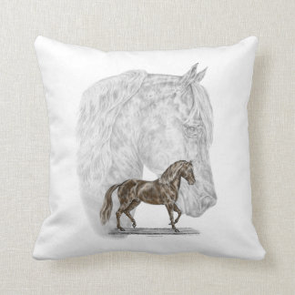 Paso Fino Horse Art Pillow