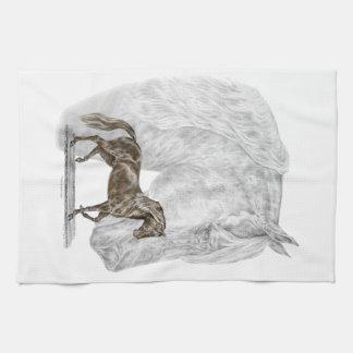 Paso Fino Horse Art Towels