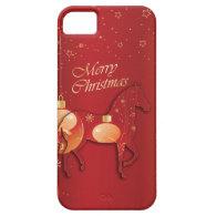 Paso Fino Horse Christmas Joy iPhone 5 Cases
