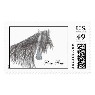 Paso Fino Horse Drawing Stamps