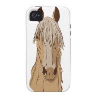 Paso Fino Horse Face Case-Mate iPhone 4 Cover