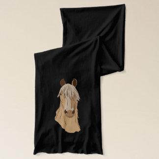 Paso Fino Horse Face Scarf