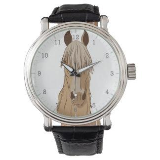 Paso Fino Horse Face Wrist Watch