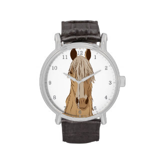 Paso Fino Horse Face Wristwatch