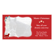 Paso Fino Horse Festive Christmas Holiday Card