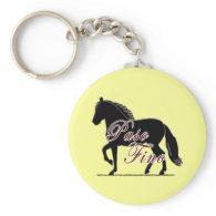 Paso Fino Horse Keychains