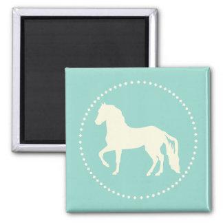 Paso Fino Horse Silhouette Magnet