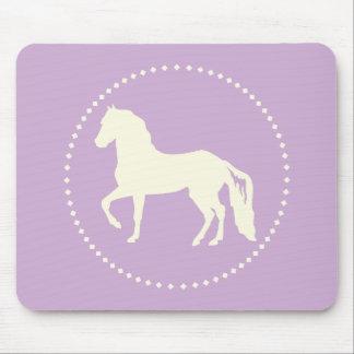 Paso Fino Horse Silhouette Mouse Pad
