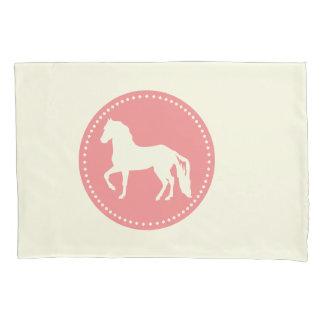Paso Fino Horse Silhouette Pillowcase