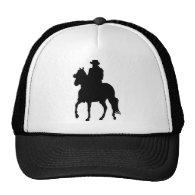 Paso Fino Horse Silhouette Rider Trucker Hat