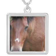 Paso Fino Horse Sterling Silver Necklace