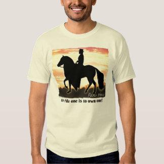 Paso Fino Horse Tee Shirts