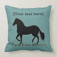 Paso Fino Horses - Personalize It Pillow