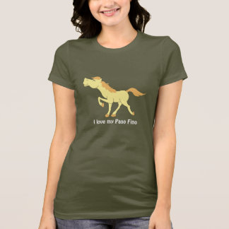 Paso Fino or Any Breed Cremello Horse shirt