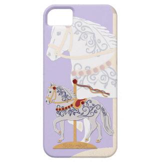 Paso Fino Rose Scroll Carousel Horse iPhone SE/5/5s Case