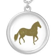 Paso Fino Silhouette Heart Jewelry