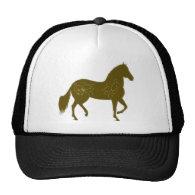 Paso Fino Silhouette Heart Trucker Hat