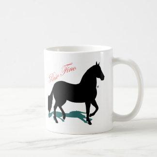 Paso Fino Silhouette Shadow Coffee Mug