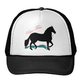 Paso Fino Silhouette Shadow Trucker Hat