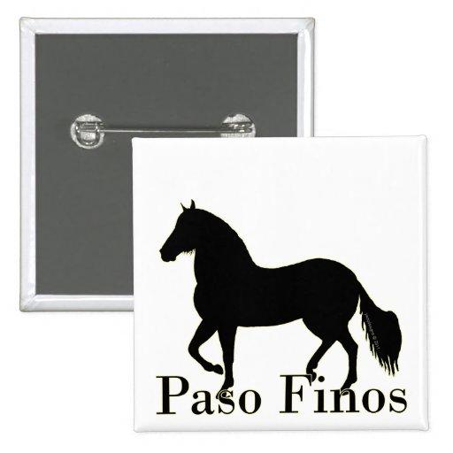 Paso Finos - personalícelo Pins