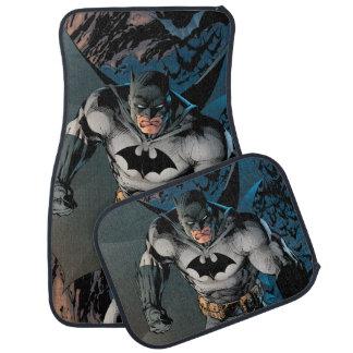 Paso grande de Batman Alfombrilla De Auto