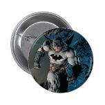 Paso grande de Batman Pin Redondo De 2 Pulgadas