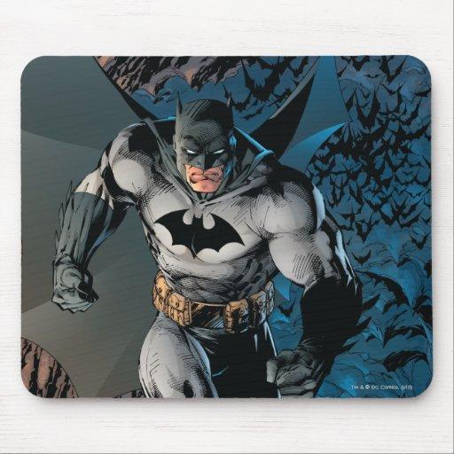 Paso grande de Batman Tapetes De Ratón