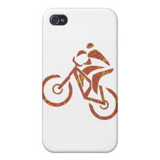Paso grande de la puerta de la bici iPhone 4/4S funda