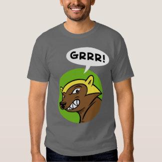 """Paso """"GRRR de los ciervos!"""" Camiseta: Verde Remera"""