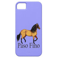 Paso Horse Buckskin Paso Fino iPhone 5 Cases