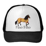 Paso Horse Buckskin Paso Fino Trucker Hats