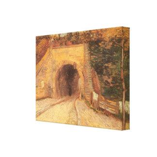 Paso inferior del camino w, viaducto de Vincent Impresion En Lona