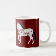 Paso! Paso Fino Silhouette Coffee Mug
