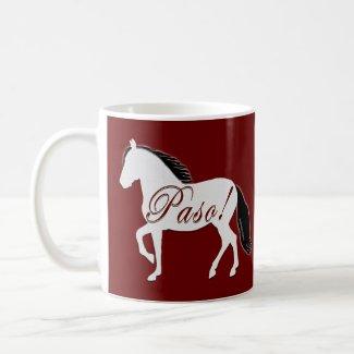 Paso! Paso Fino Silhouette mug