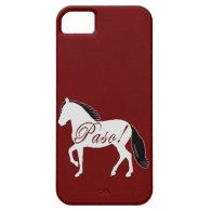 Paso! Paso Fino Silhouette Tile Keepsake iPhone 5/5S Cases