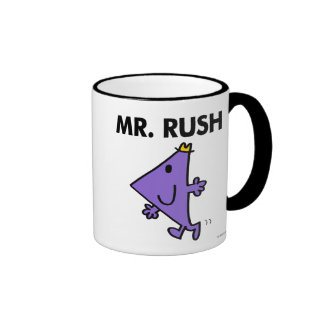 Paso rápido de Sr. Rush el   Taza A Dos Colores