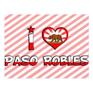 Paso Robles, CA Post Card
