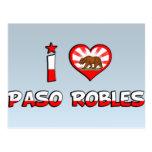 Paso Robles, CA Postcards